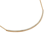 Curve Necklace - Jewelry Buzz Box  - 5