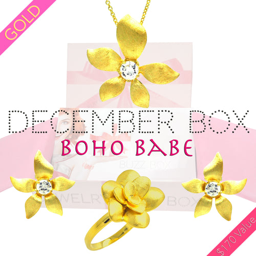 December Boho Gold Box - Jewelry Buzz Box  - 1