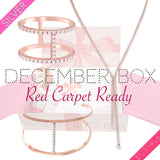 December Red Carpet Silver Box - Jewelry Buzz Box  - 1