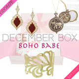 December Boho Bronze Box - Jewelry Buzz Box  - 1