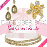 December Red Carpet Bronze Box - Jewelry Buzz Box  - 1