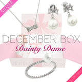 December Dainty Silver Box - Jewelry Buzz Box  - 1