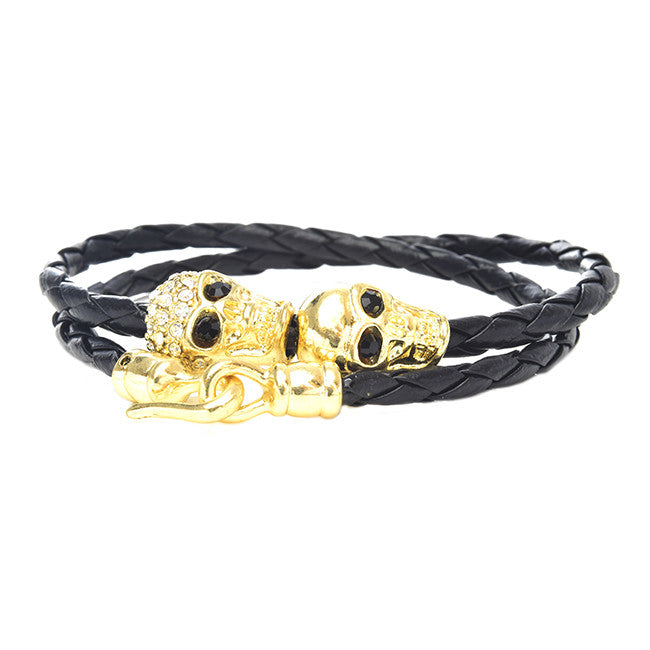 Sexy Skull Wrap Bracelet - Jewelry Buzz Box  - 1