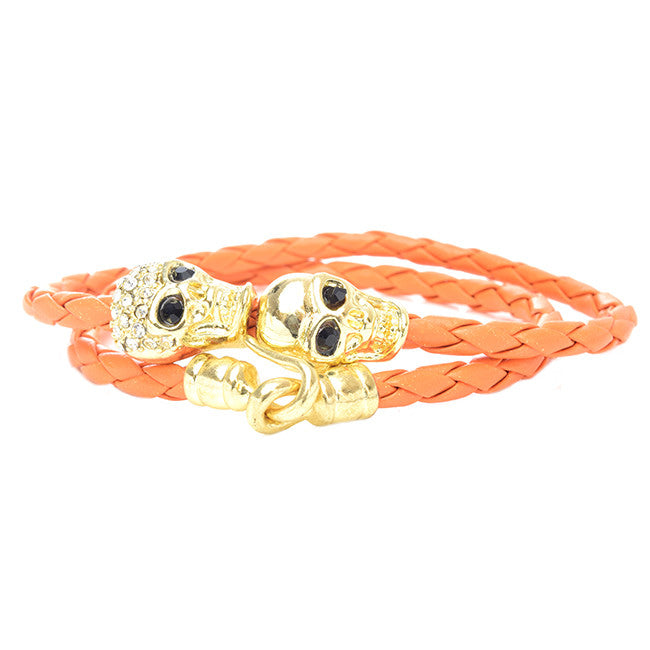 Sexy Skull Wrap Bracelet - Jewelry Buzz Box  - 2