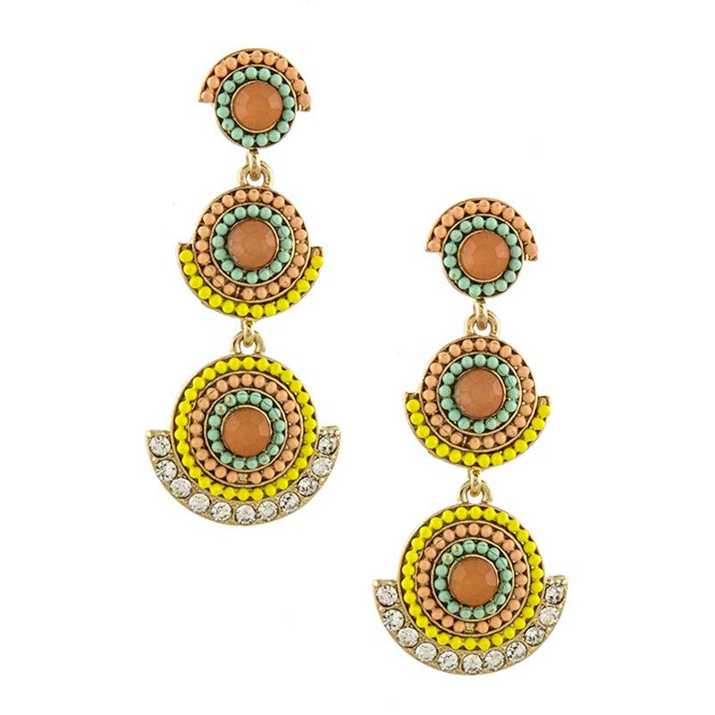 Bollywood Earrings - Jewelry Buzz Box  - 2