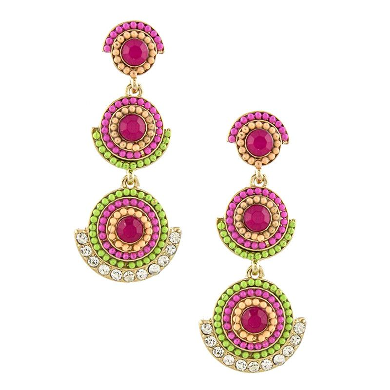 Bollywood Earrings - Jewelry Buzz Box  - 1