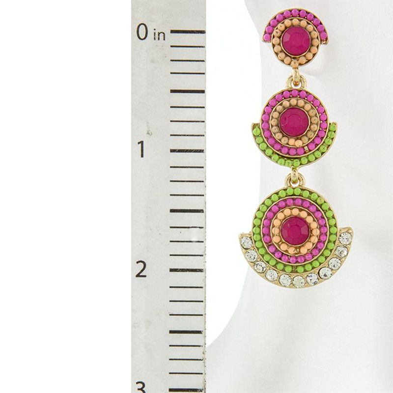 Bollywood Earrings - Jewelry Buzz Box  - 4