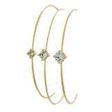 Crystal Prong Bracelet - Jewelry Buzz Box  - 1