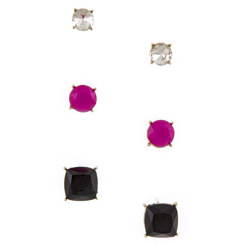 Quadrate Earrings - Jewelry Buzz Box  - 1