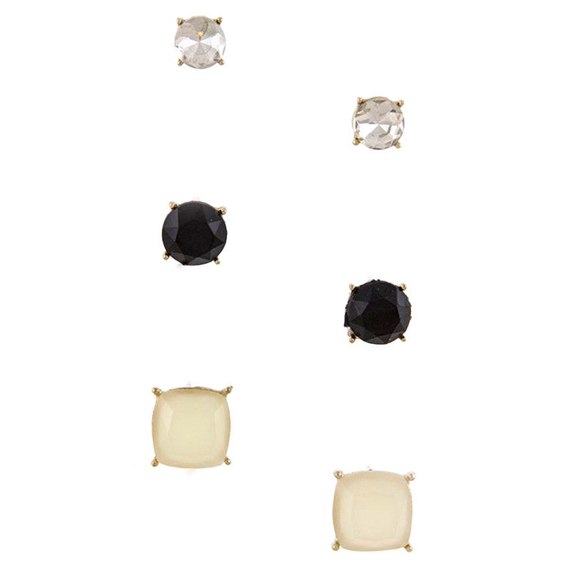 Quadrate Earrings - Jewelry Buzz Box  - 2