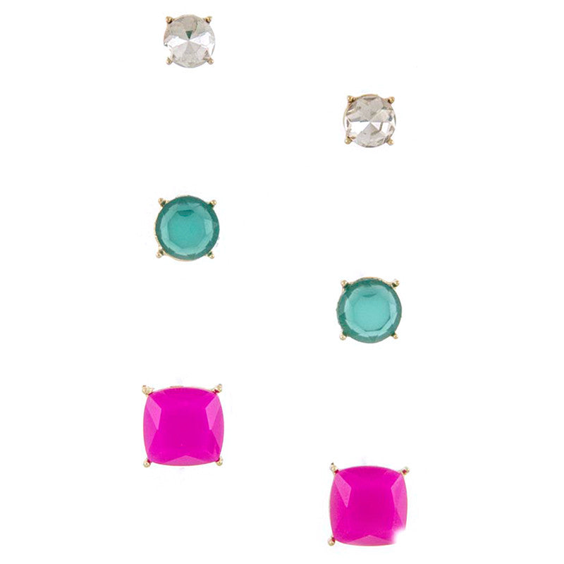 Quadrate Earrings - Jewelry Buzz Box  - 4
