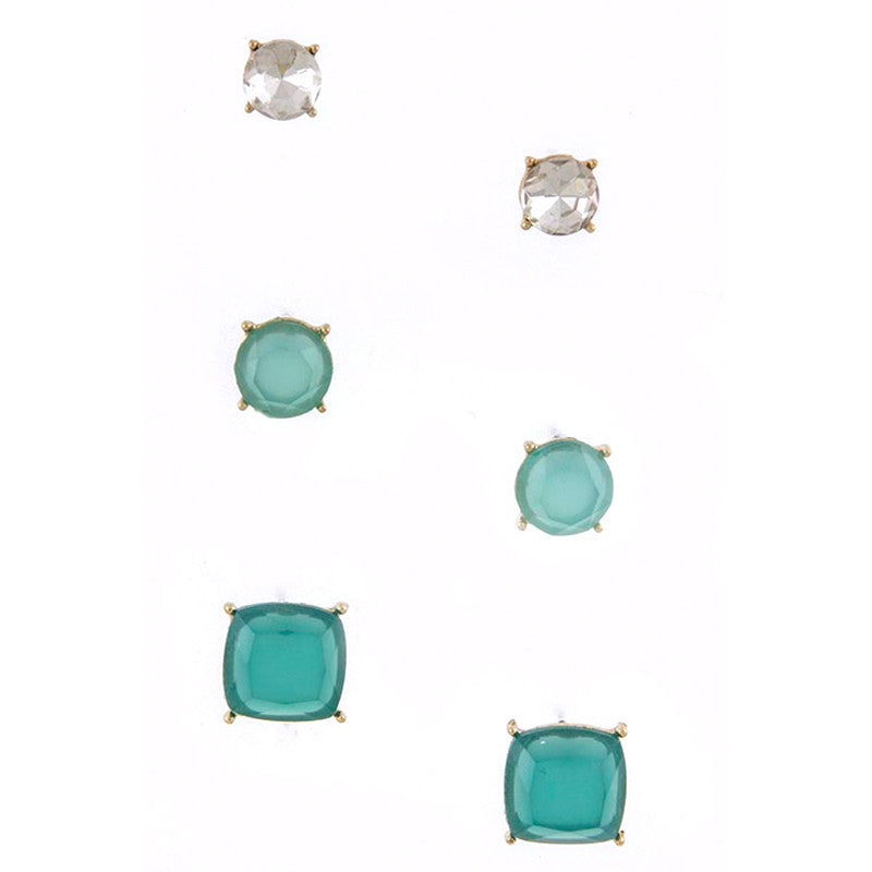 Quadrate Earrings - Jewelry Buzz Box  - 5