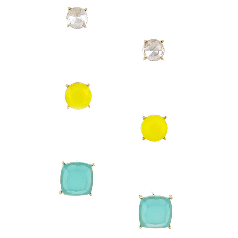 Quadrate Earrings - Jewelry Buzz Box  - 6
