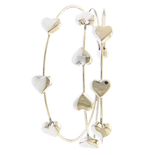Cuff Heart Bracelet - Jewelry Buzz Box  - 2