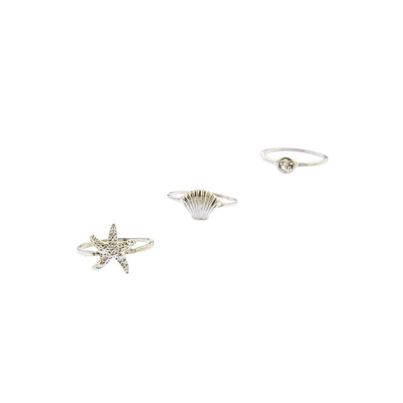 Under The Sea Knuckle Ring Set - Jewelry Buzz Box  - 3
