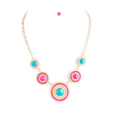 Glorious Bead Necklace Set - Jewelry Buzz Box  - 1