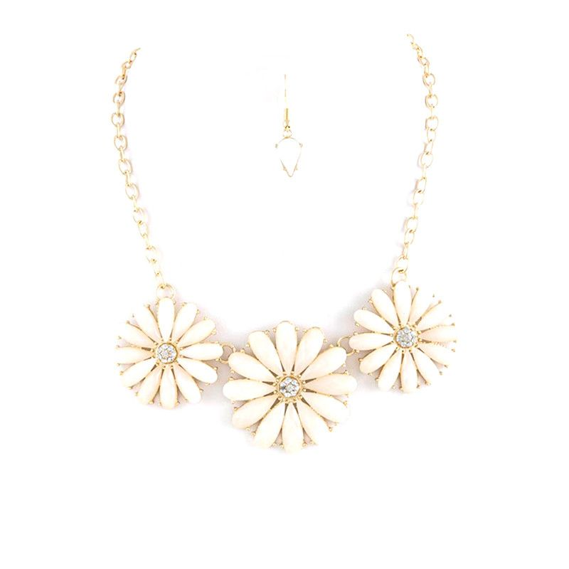 Bloom Necklace Set - Jewelry Buzz Box  - 2
