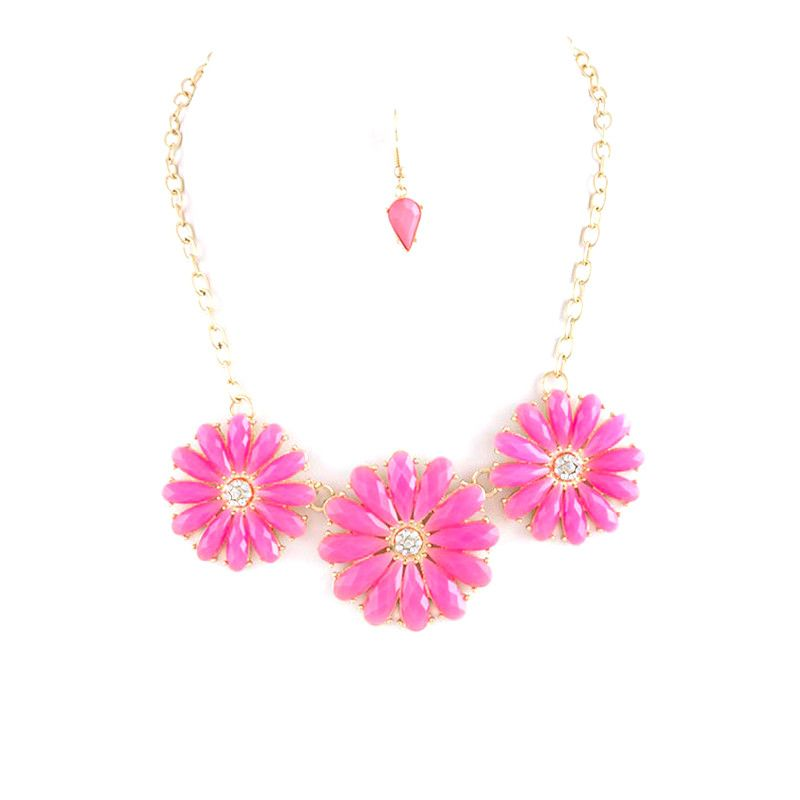 Bloom Necklace Set - Jewelry Buzz Box  - 4