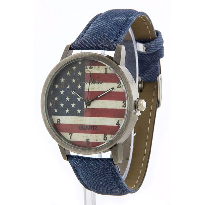 American Flag Watch - Jewelry Buzz Box  - 1