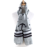 Nautical Stripe Scarf - Jewelry Buzz Box  - 1