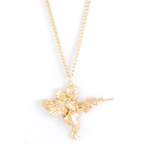 Warrior Angel Necklace - Jewelry Buzz Box  - 1
