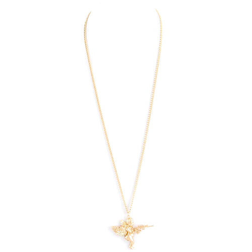 Warrior Angel Necklace - Jewelry Buzz Box  - 2