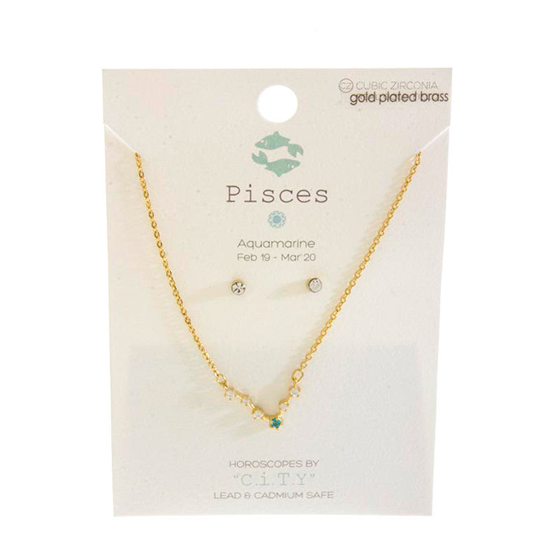 Horoscope Necklace Set - Jewelry Buzz Box  - 12