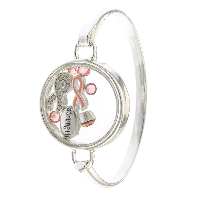 Fight Breast Cancer Bracelet! - Jewelry Buzz Box  - 1