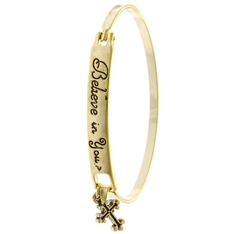 Believe In You Bracelet - Jewelry Buzz Box  - 1