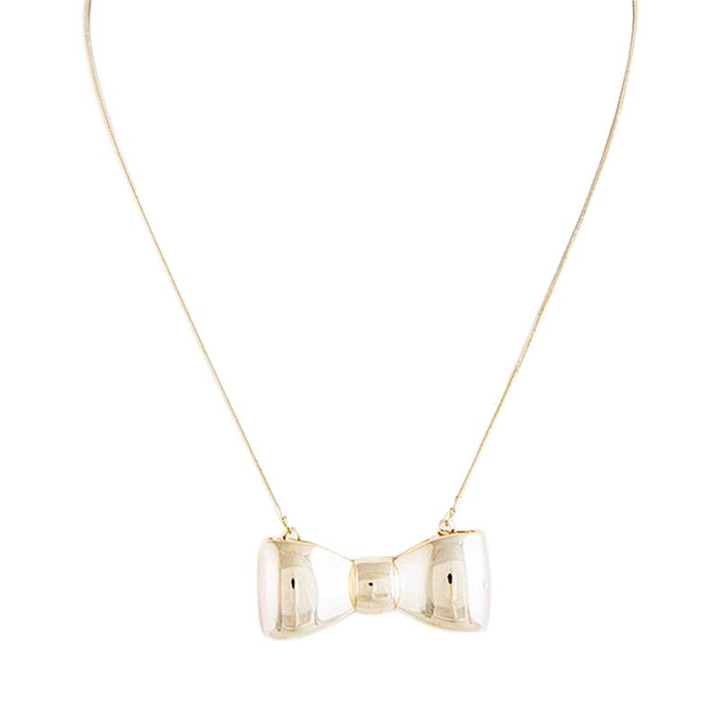 Babe Bow Necklace - Jewelry Buzz Box  - 1