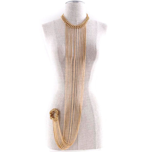 Bold Bracelet Body Chain - Jewelry Buzz Box  - 1
