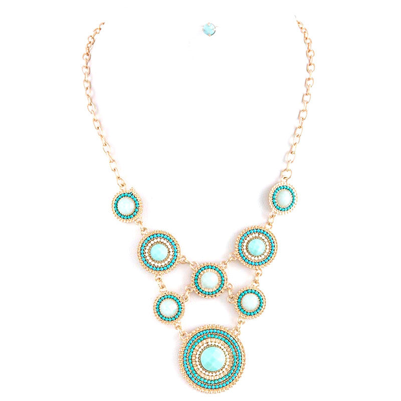 Glimmer Bead Necklace Set - Jewelry Buzz Box  - 3