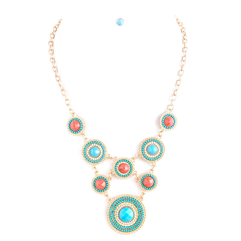 Glimmer Bead Necklace Set - Jewelry Buzz Box  - 2