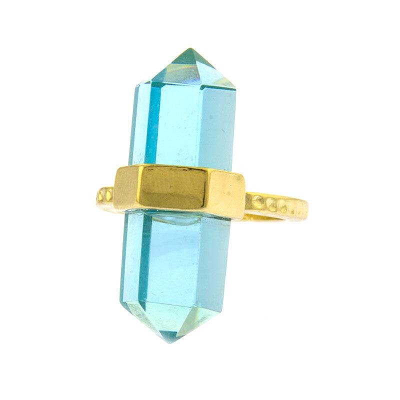 Gem Bolt Ring - Jewelry Buzz Box  - 2