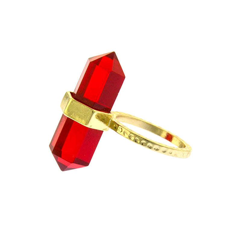 Gem Bolt Ring - Jewelry Buzz Box  - 6