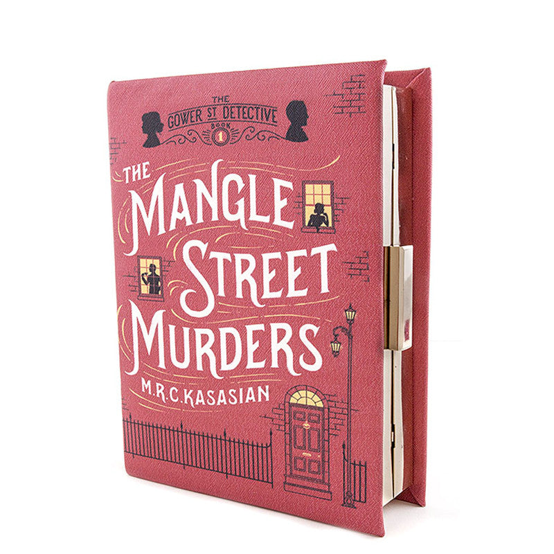Mangle Street Murders Clutch Purse - Jewelry Buzz Box  - 1