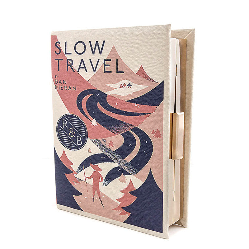 Slow Travel Clutch Purse - Jewelry Buzz Box  - 1