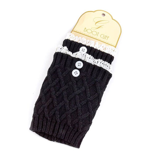 Button Boot Legwarmer - Jewelry Buzz Box  - 2