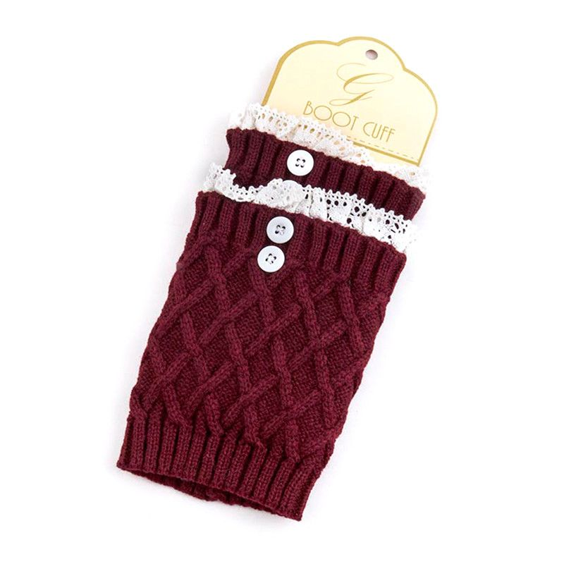 Button Boot Legwarmer - Jewelry Buzz Box  - 4