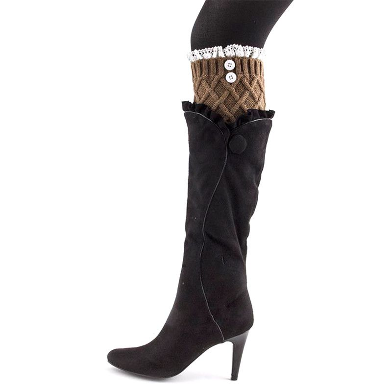 Button Boot Legwarmer - Jewelry Buzz Box  - 9