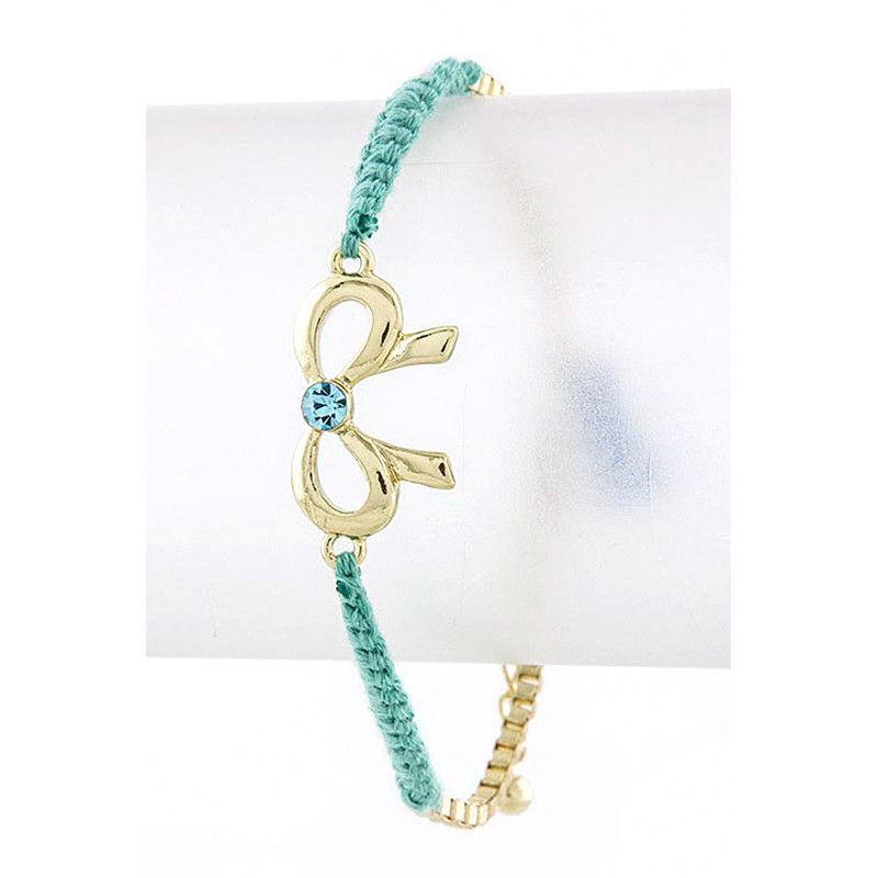 Braid & Bow Bracelet - Jewelry Buzz Box  - 4