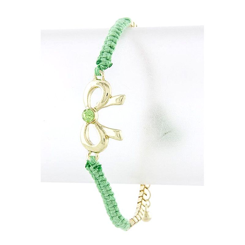 Braid & Bow Bracelet - Jewelry Buzz Box  - 5