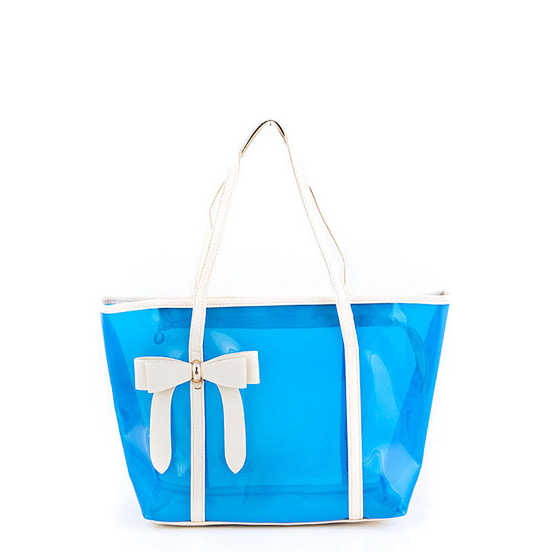 Dainty Bow Tote Bag - Jewelry Buzz Box  - 6