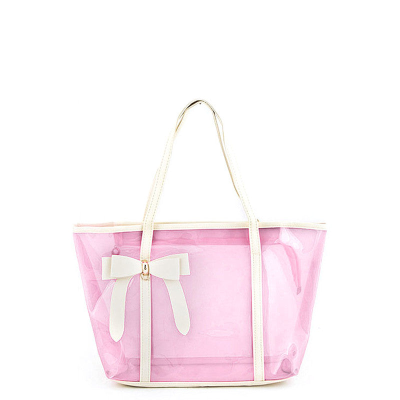 Dainty Bow Tote Bag - Jewelry Buzz Box  - 5