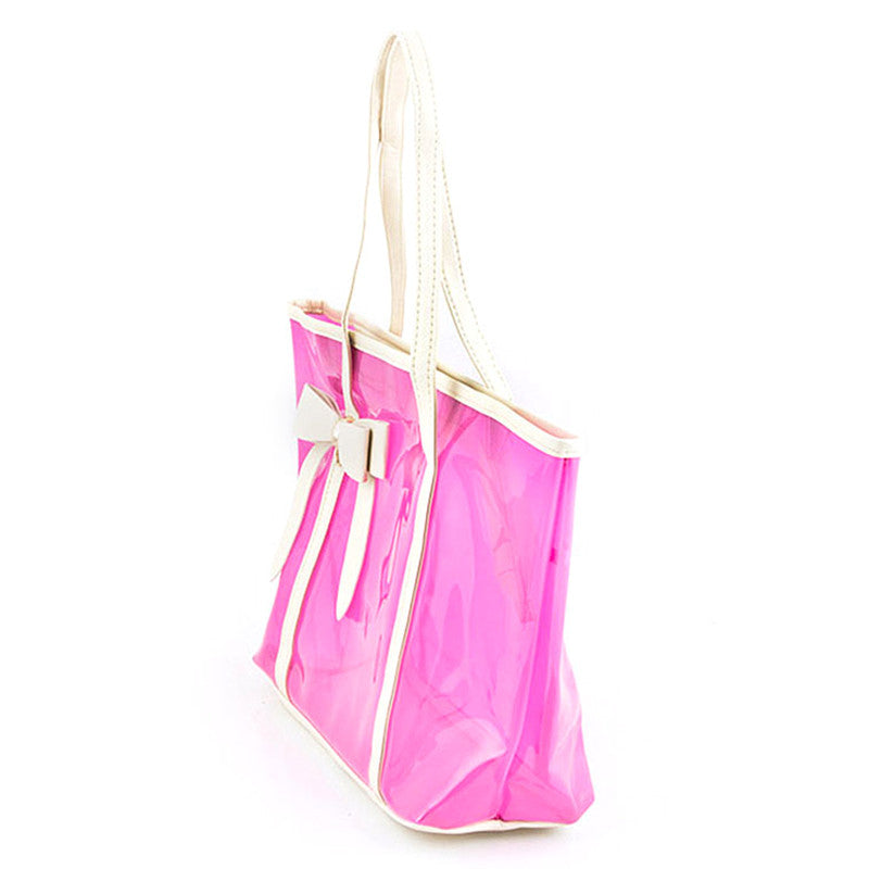 Dainty Bow Tote Bag - Jewelry Buzz Box  - 3
