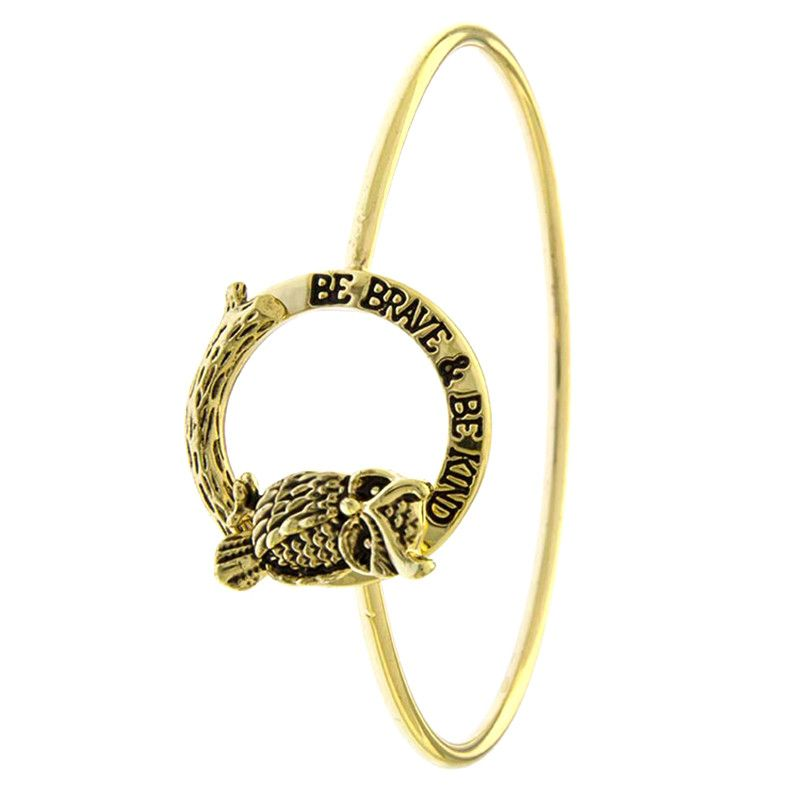 Be Brave & Be Kind Bracelet - Jewelry Buzz Box  - 2