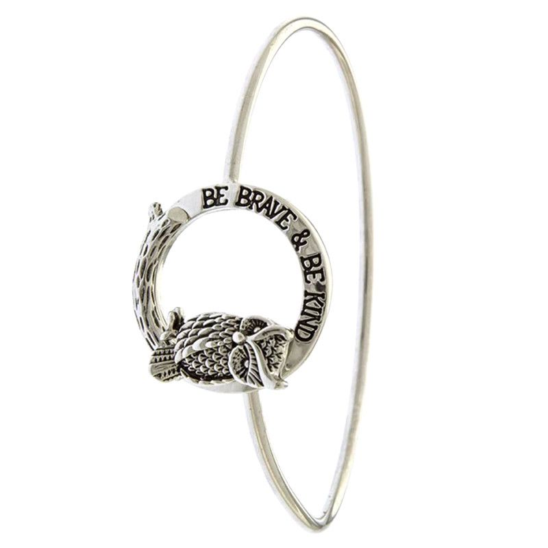 Be Brave & Be Kind Bracelet - Jewelry Buzz Box  - 1