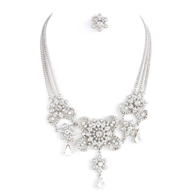 Belle Of The Ball Necklace Set - Jewelry Buzz Box  - 1