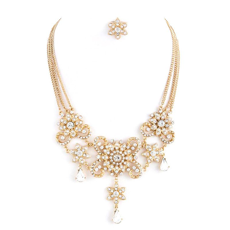 Belle Of The Ball Necklace Set - Jewelry Buzz Box  - 2