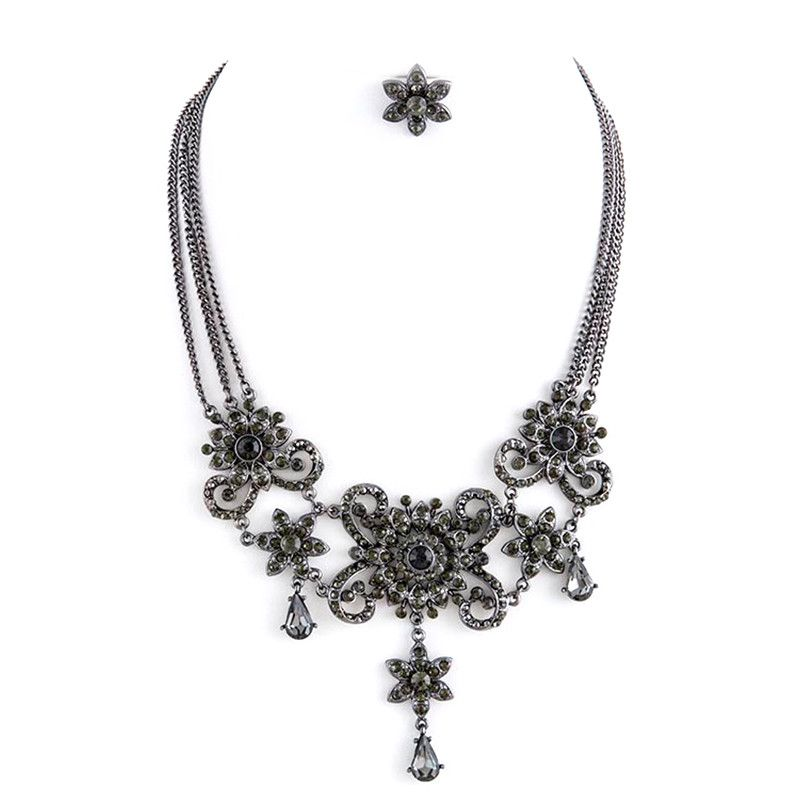 Belle Of The Ball Necklace Set - Jewelry Buzz Box  - 3